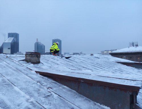 Amet hoiatab: lumeperioodil tuleb tagada katustel ohutus!