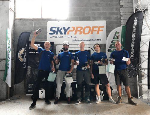 Köietehnikud Eestis: miks kutsub Skyproff end nr 1 kõrgtööde ettevõtteks?
