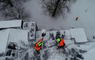 Lumekoristus katuselt